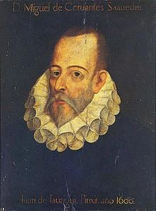 Juan de Jauregui. Retrato de Miguel de Cervantes